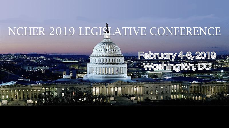2019 NCHER Legislative Conference Banner